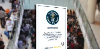 Zaragoza será la primera ciudad del mundo en tener más centros comerciales que habitantes